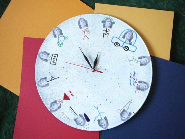 Ceas de perete pentru George
