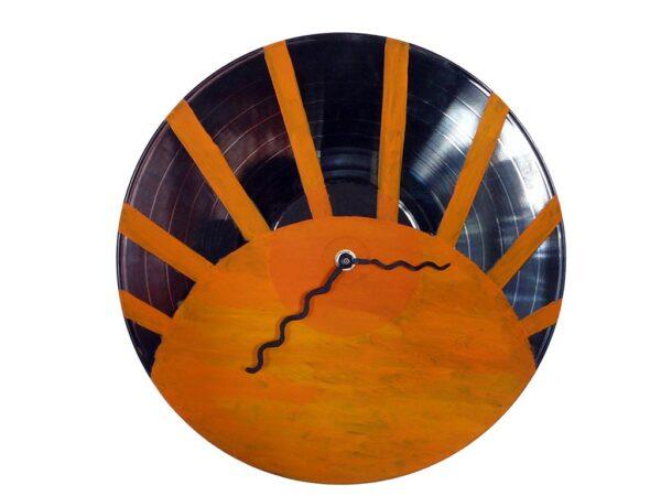solar clock ceas de perete