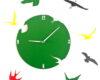 ceas-cu-pasari-verde