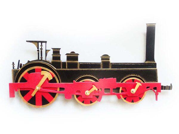 locomotiva cu aburi crompton