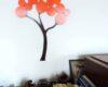 ceasuri de perete portocalia decor