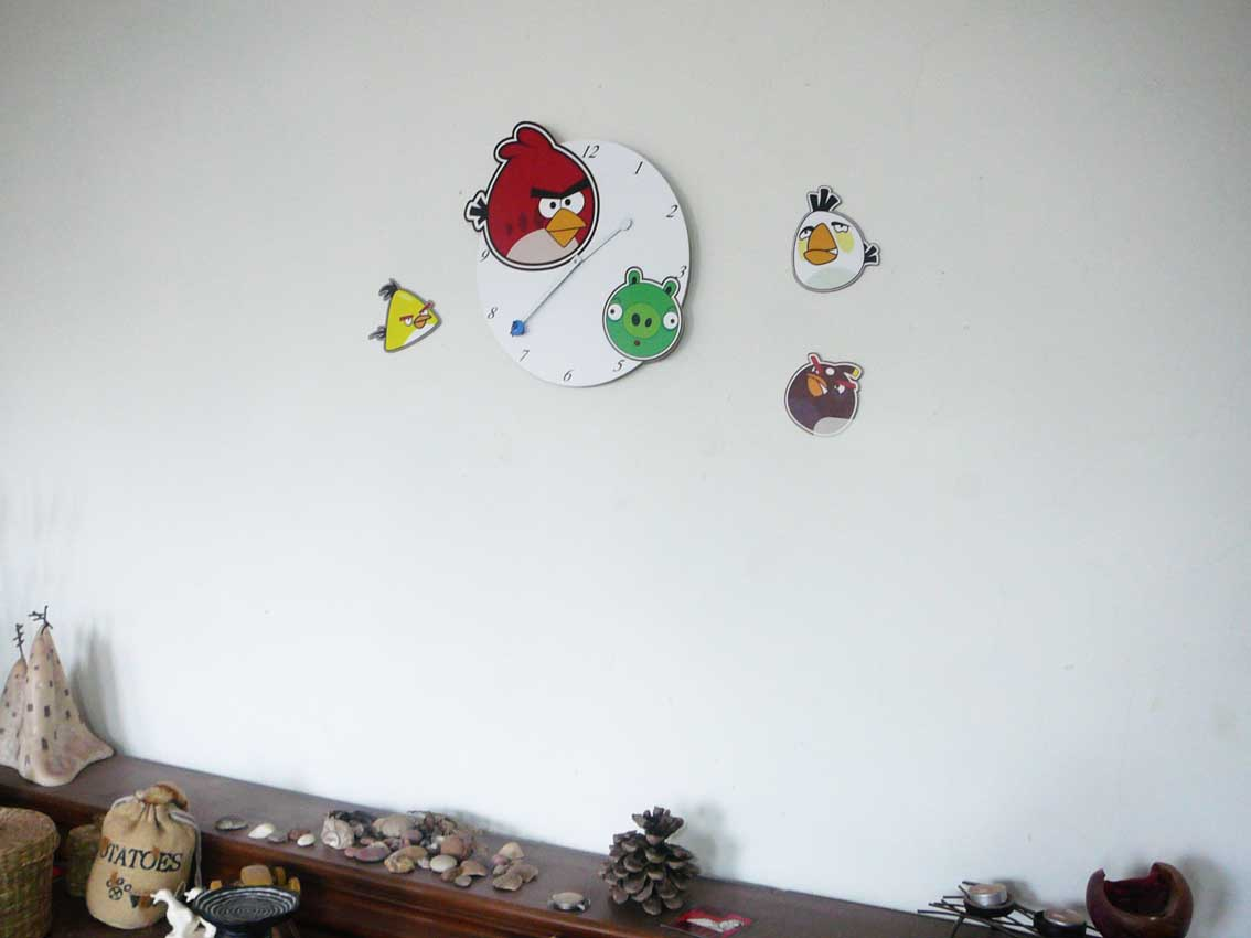 angry birds ceas decor