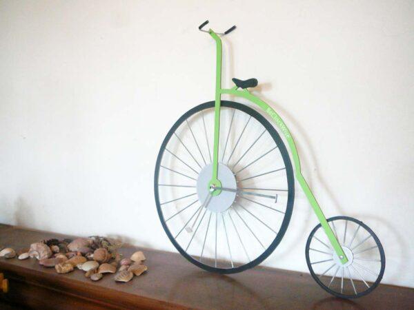bicicleta velociped ceas perete