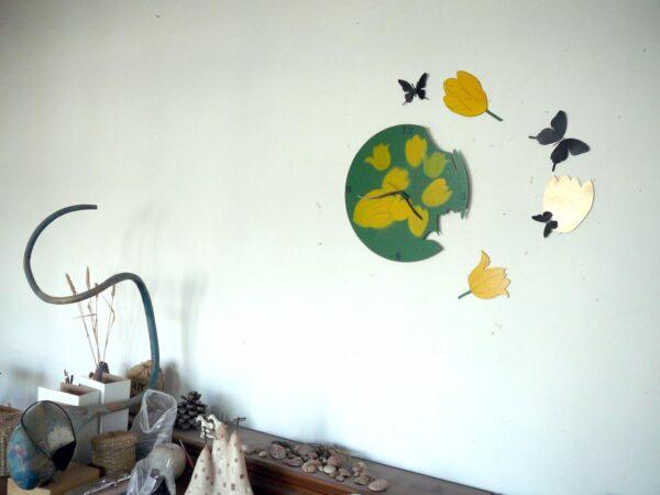 lalele cu fluturi decor