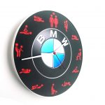 Ceas BMW cu rama vedere laterala