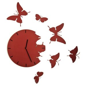 Fluturi – Ceas de perete