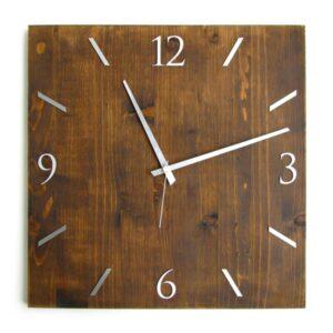 Ceas perete din lemn