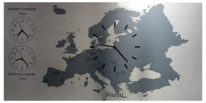 European Time ceas de perete