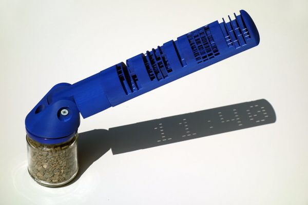 ceas solar albastru