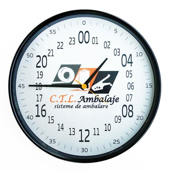 ceas comanda 24 ore