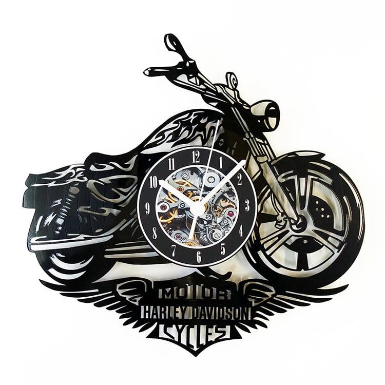 Harley-Davidson-motocicleta-vedere-fata