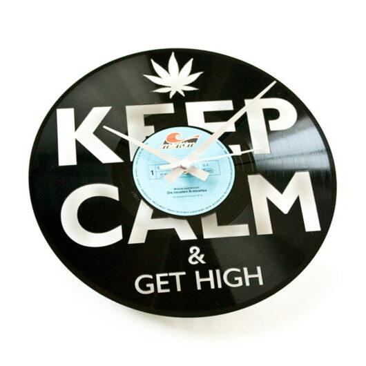 Ceas vinil marijuana