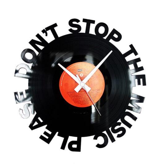 Nu opri muzica ceas vinil
