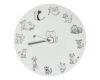 ceas pisicos alb
