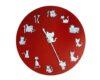 ceas pisicos rosu