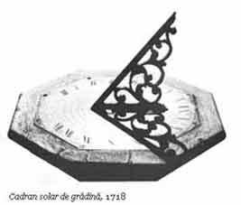 Istoria ceasului. Ceas solar vechi