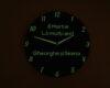 ceas verde fosforescent