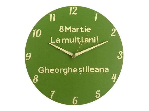 ceas verde fosforescent vedere fata