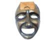 masca de teatru cu ceas