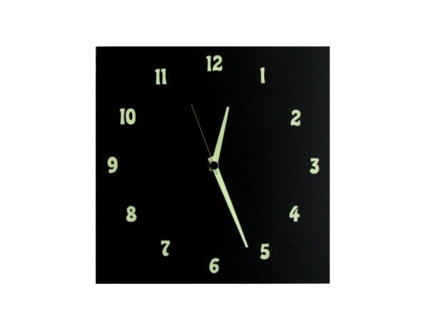 ceas negru fosforescent