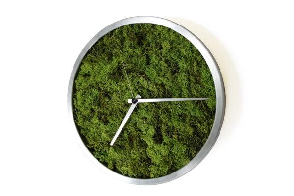 ceas perete muschi verzi