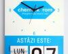 Chemark rom ceas perete