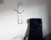 ceas de perete minimalist din metal