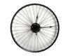 roata bicicleta ceas negru