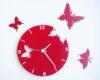 ceas-decupat-fluturi-rosii