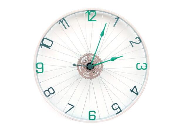 ceas perete roata biciclete cu ore