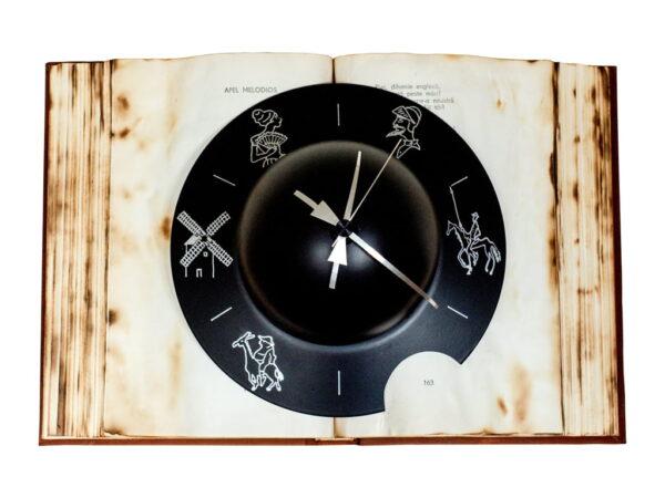 ceas cu povestea lui don quijote