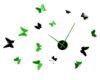 fluturi 3d verzi si negru
