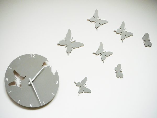 fluturi argintii