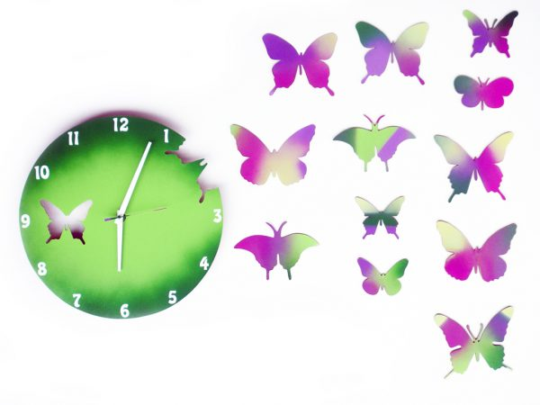 fluturi multicolori