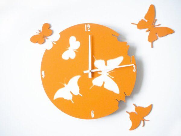 fluturi portocalii cifre