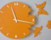 fluturi portocaliu deschis