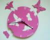 fluturi roz scrisi