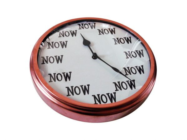 now now is the time