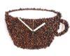 boaba cafea ceas perete