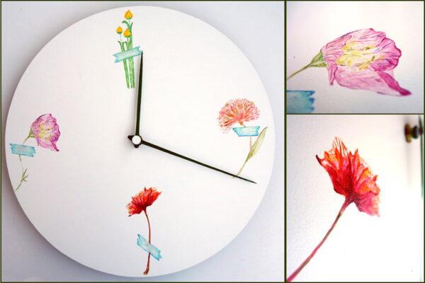 ceas perete Floris