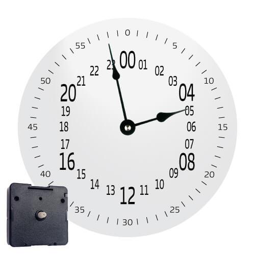 mecanism 24 ore cadran 24ore