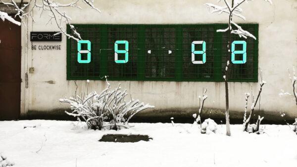 Metrom'O'Clock iarna