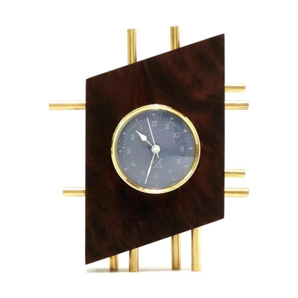 OЯRO II ceas de masă albastru vertical
