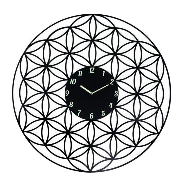 Floarea vietii ceas de perete