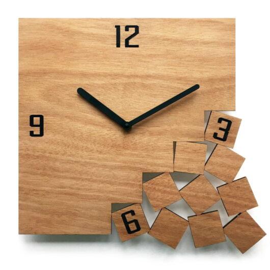 Technowood ceas lemn gravat
