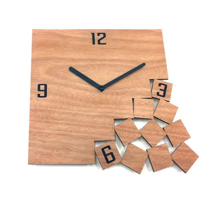 ceas placaj lemn