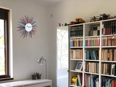 Dormitor copil cu ceas Be Clockwise