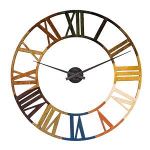 Ceas paleta culori lemn