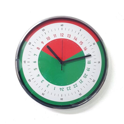 Program de munca Ceas perete cadran 24 ore