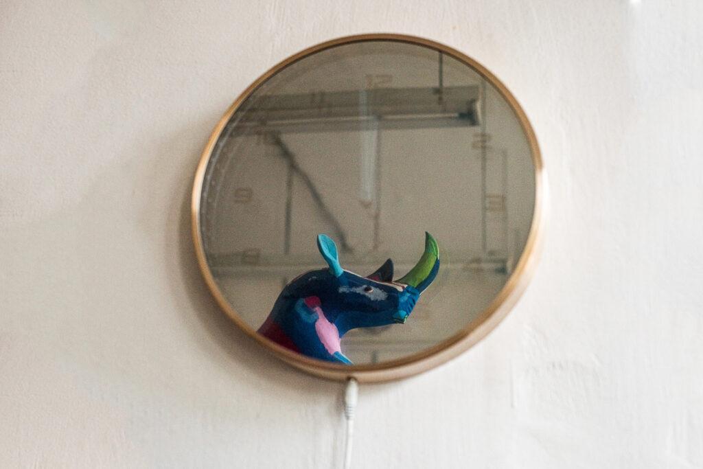 Reflexie oglindă infinită